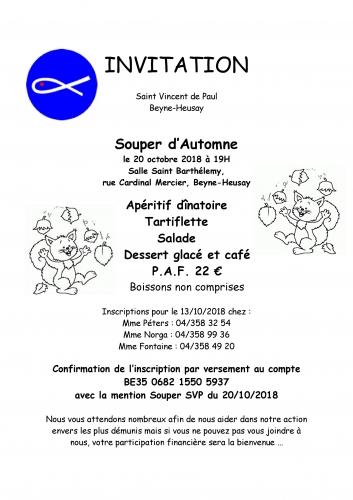 ssvp,saintvincentdepaul, Beyne-Heusay,invitation,événement,fête,Liège